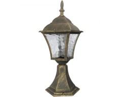 Pitic exterior Rabalux Toscana, E27, 1x60W, H 43 cm, Auriu antic