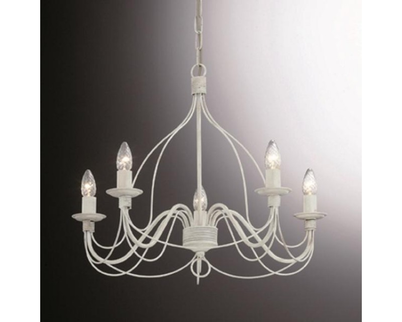 Candelabru-CORTE-SP5-Bianco-005881-Ideal Lux