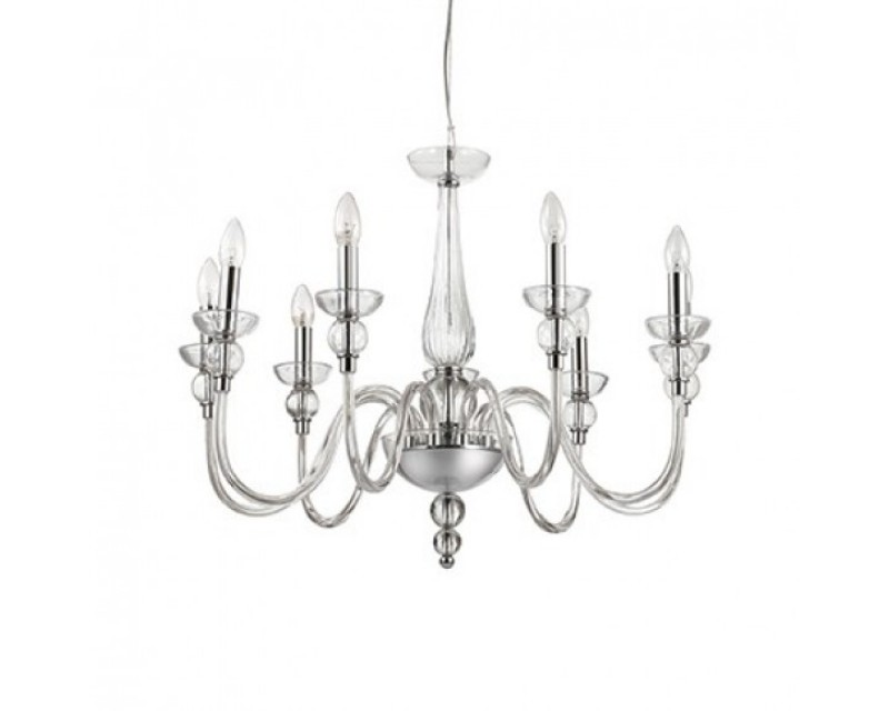 Candelabru Transparent ,Dodge,9becuri