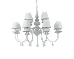 Candelabru Sp 12 Ideal Lux Blanche /Deco Electric