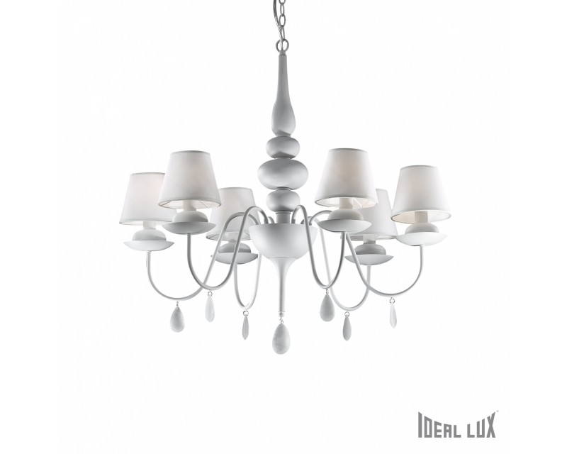 Lustra Blanche sp 6 Ideal Lux-Deco Electric