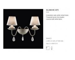 Aplica Blanche Ap 2 Ideal Lux-Deco Electric
