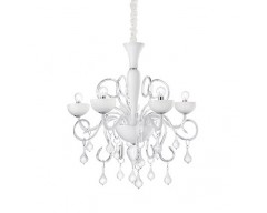 Candelabru Alb Lilly sp 5 Ideal Lux