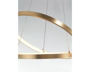 Led Modern Pendant Leon Nova Luce