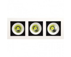 Spot incastrat LED COB 3X8W SABRINA-24