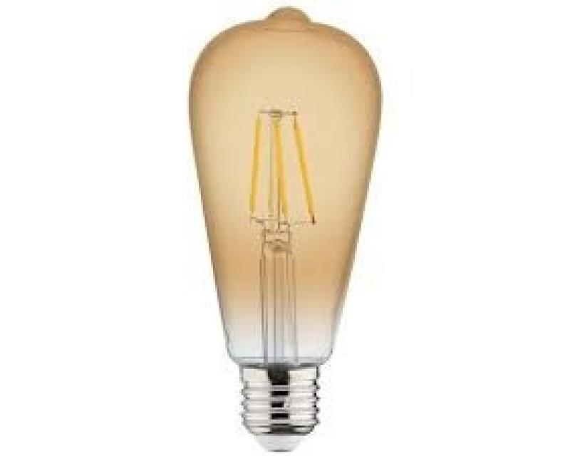 Bec decorativ LED COG 6W rustic Vintage-6 E27 HOROZ