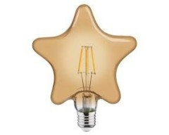 Bec decorativ LED COG 6W rustic Star-6 E27 LUMEN