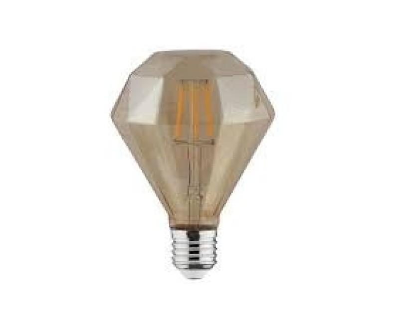 Bec decorativ LED COG 4W rustic Diamond-4 E27 HOROZ