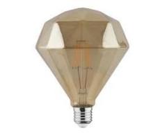 Bec decorativ LED COG 6W rustic Diamond-6 E27 HOROZ