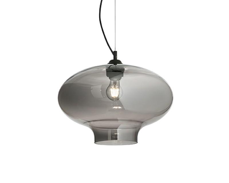 Pendul Bistro sp1 Round Fumuriu 120904 Ideal Lux in stoc  Deco Electric Valea Cascadelor 23